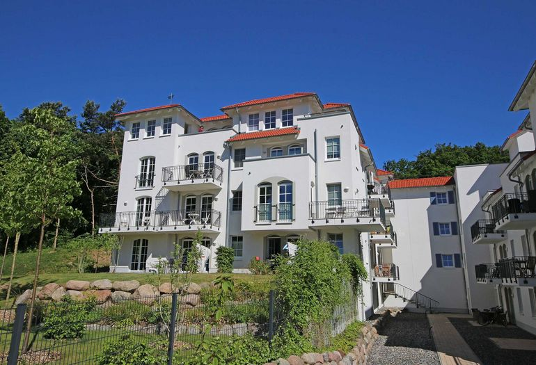 "Haus Meeresblick Baabe A 4 03 ""Urlaubsglück"" mit"