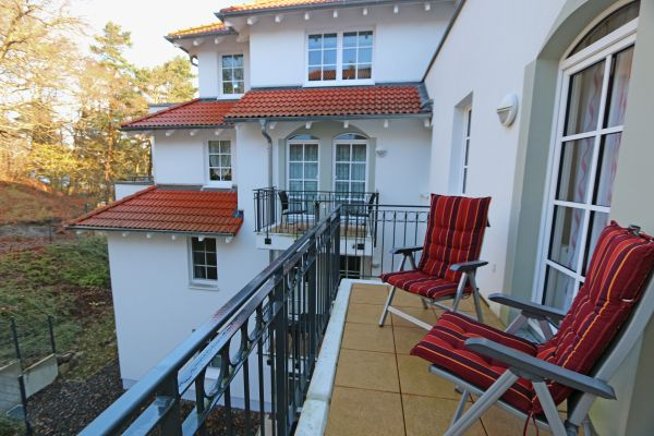 Haus Meeresblick Baabe A 2 23 Silberdistel mit Balkon