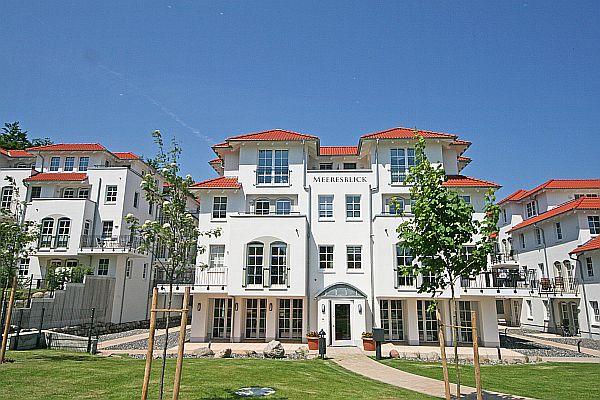 "Haus Meeresblick Baabe A 4 01 ""Strandkorb"" mit Balkon"