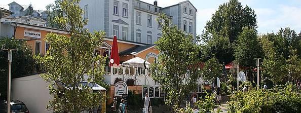 Promenade im Seebad Göhren